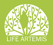 The logo of project LIFE ARTEMIS